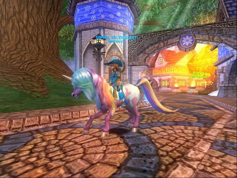 fantastic unicorn mount hair