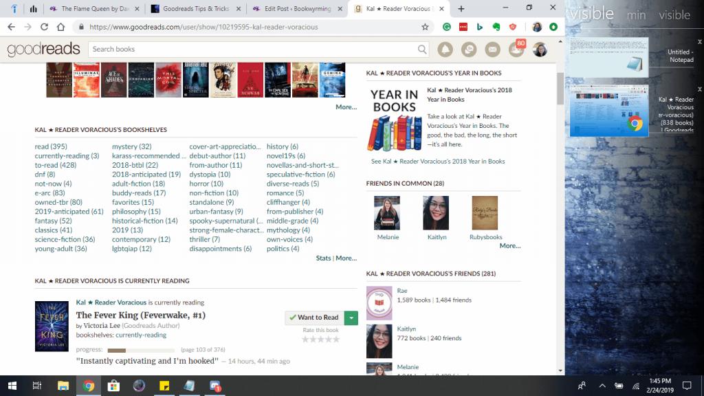 reader voracious blog