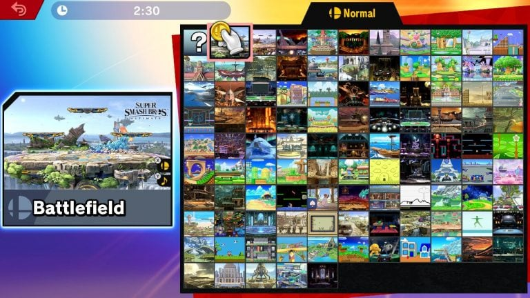 super smash bros stages
