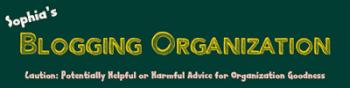 On Blogging Organization: Utilizing the Spreadsheet