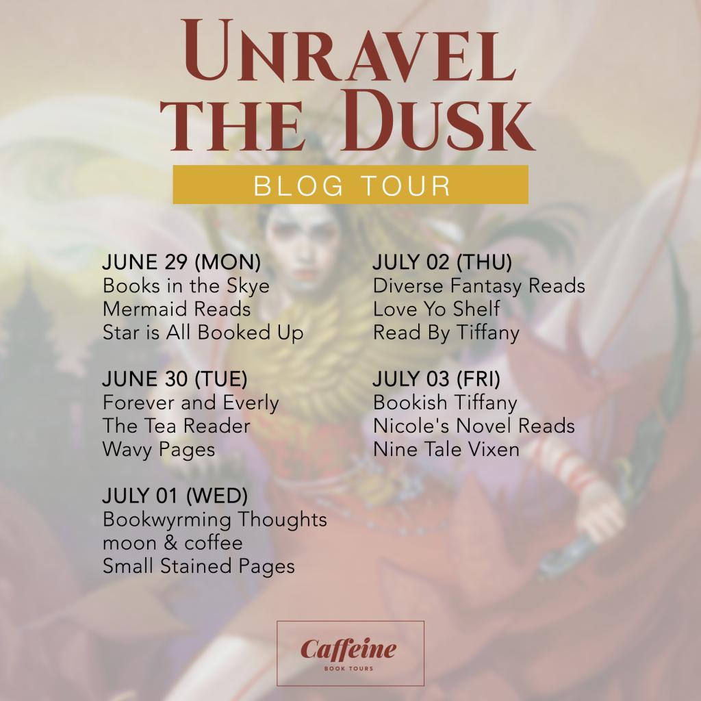 unravel the dusk tour schedule